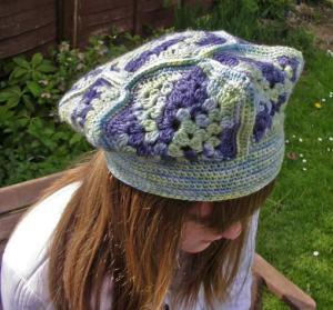вязание крючком креативный хенд-мейд шапка