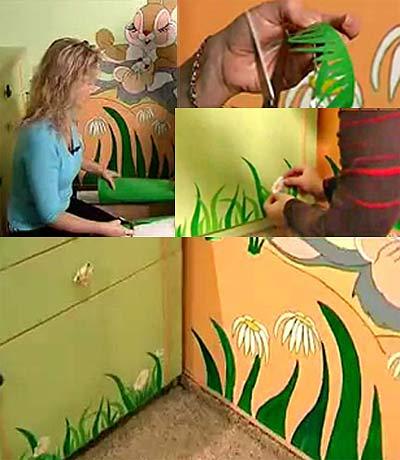 декор для детской комнаты