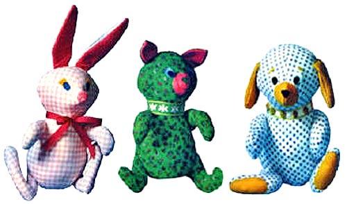 мягкие игрушки своими руками с выкройкой