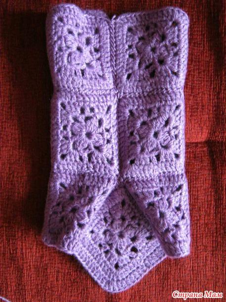 Присоединение носка сапожек 12