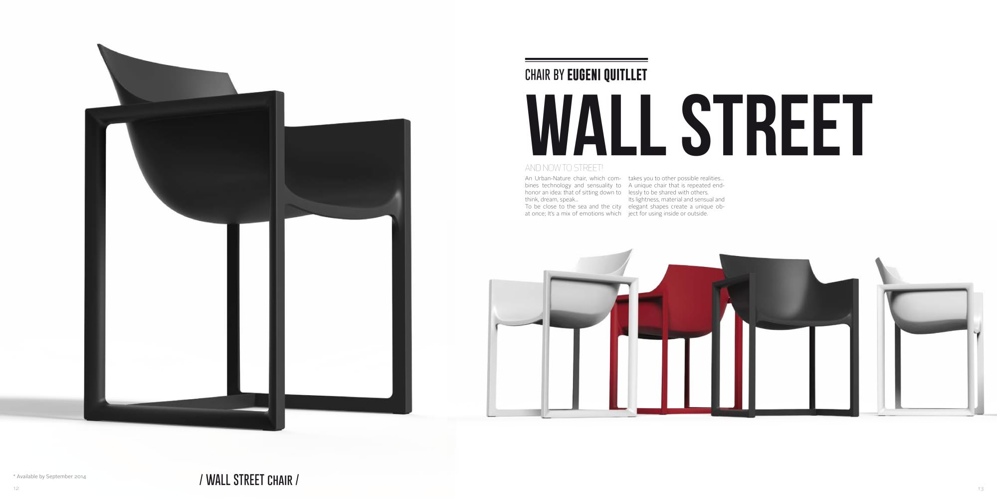 Chaise De Bar Rouge Chaise Wall Street Rouge Vondom
