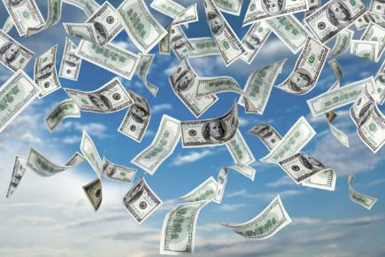 Falling Money Hd Wallpaper Dead Man Makes It Rain Money Bt