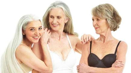 Over 50 Shades Of Grey Older Women Pose In Lingerie For