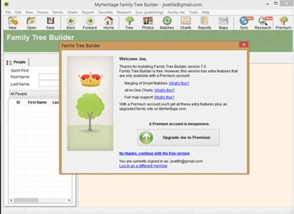 Create your family tree for free - BT