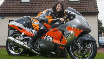 Superbike Girl Wallpaper World S Fastest Woman Survives Terrifying 254 Mph