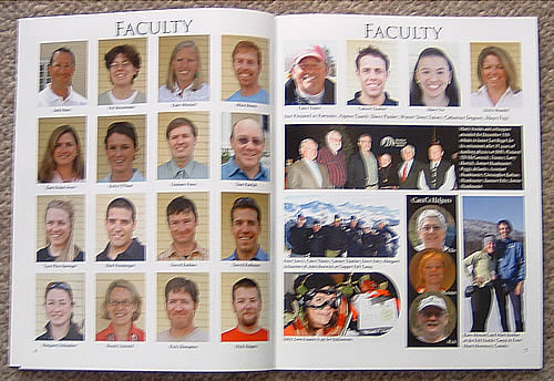 Yearbook sample - Stratton Mountain School - sample yearbook
