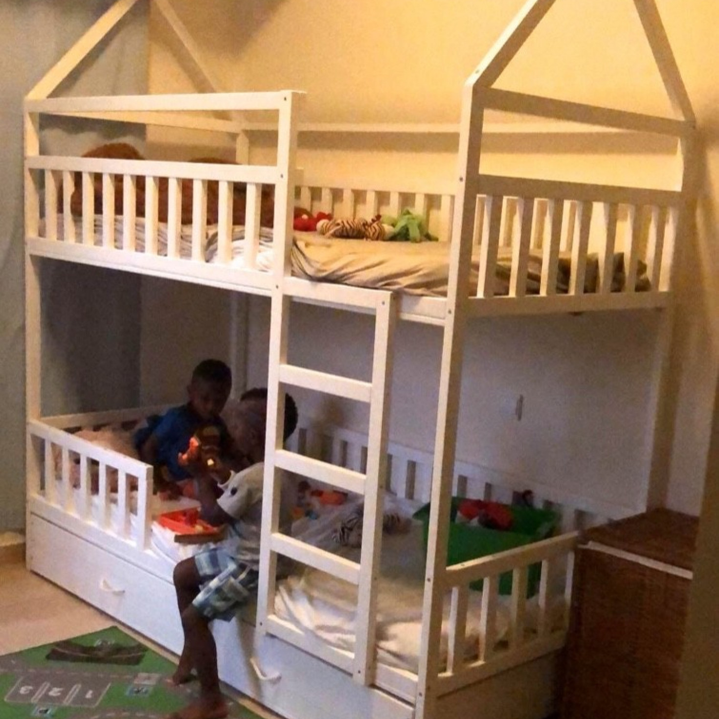 Painted Bunk Bd Homefordreams