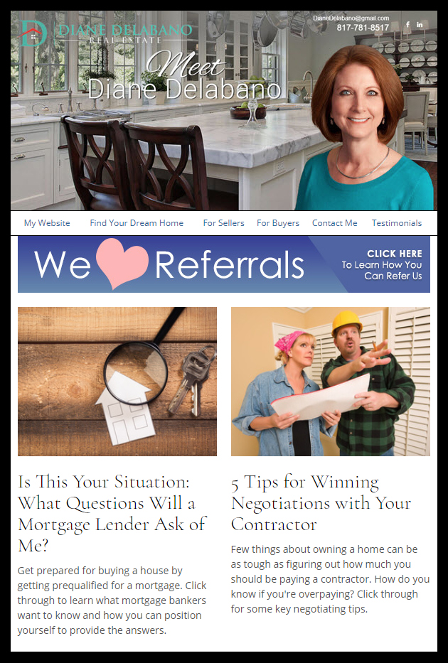HomeActions, LLC - Realtor Email Newsletters for Real Estate Marketing