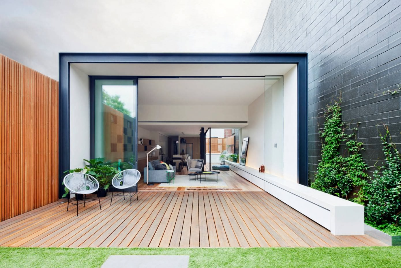 Zwembad Overkapping Rond Bridport House By Matt Gibson Architecture + Design