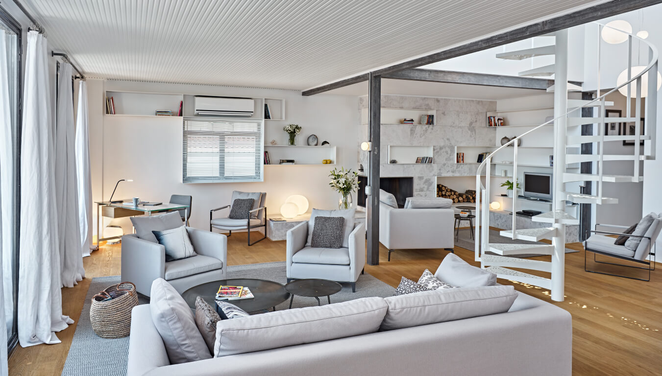 Woonkamer 35m2 White House By Ofist Homeadore