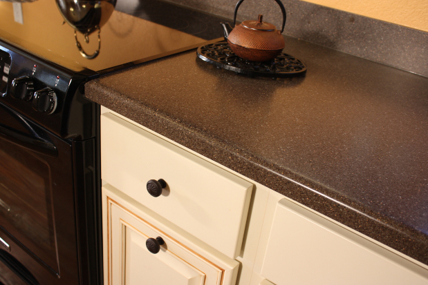 Asbestos Tile Formica Countertops - Even Better Than The Real Thing
