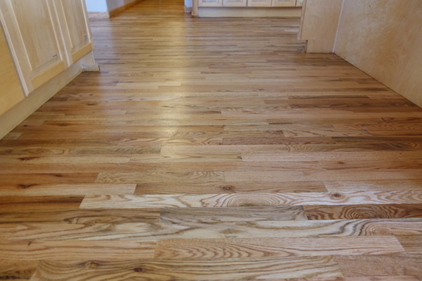 Kitchen Cabinets With Windows Oak Flooring | Unfinished Oak Flooring | Prefinished Oak