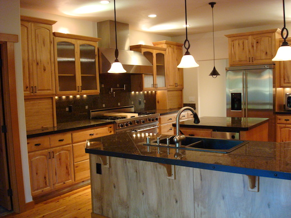 Concrete Countertops Cost Wood Cabinet - Kitchen, Storage, Options, Types