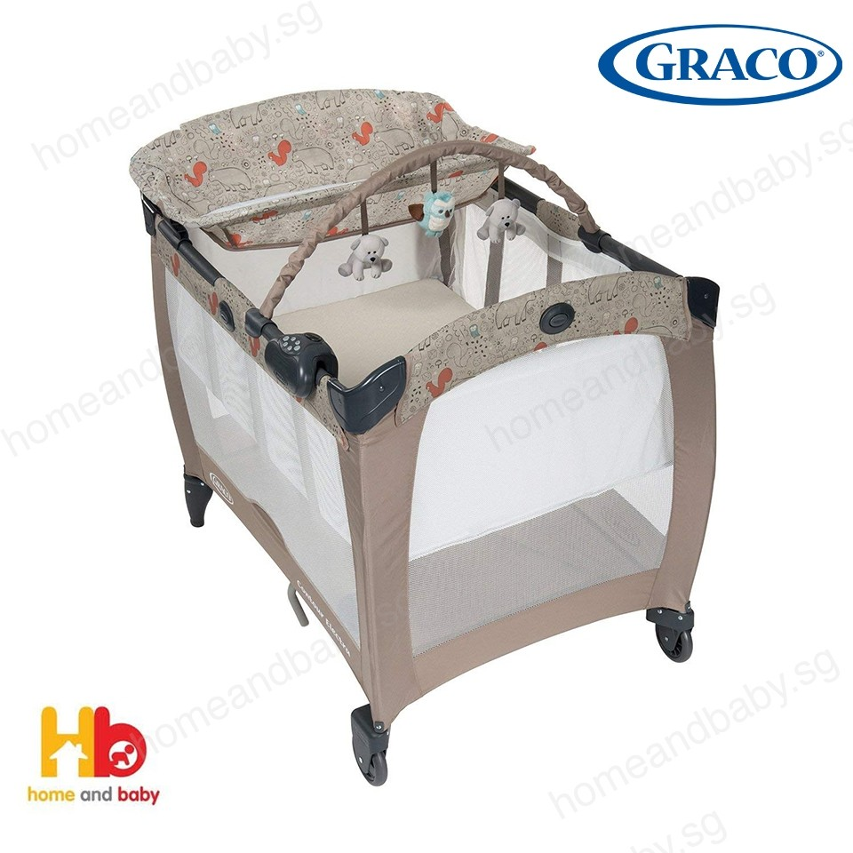 Baby Cradle Graco Graco Pack N Play Contour Electra Baby Playpen Woodland