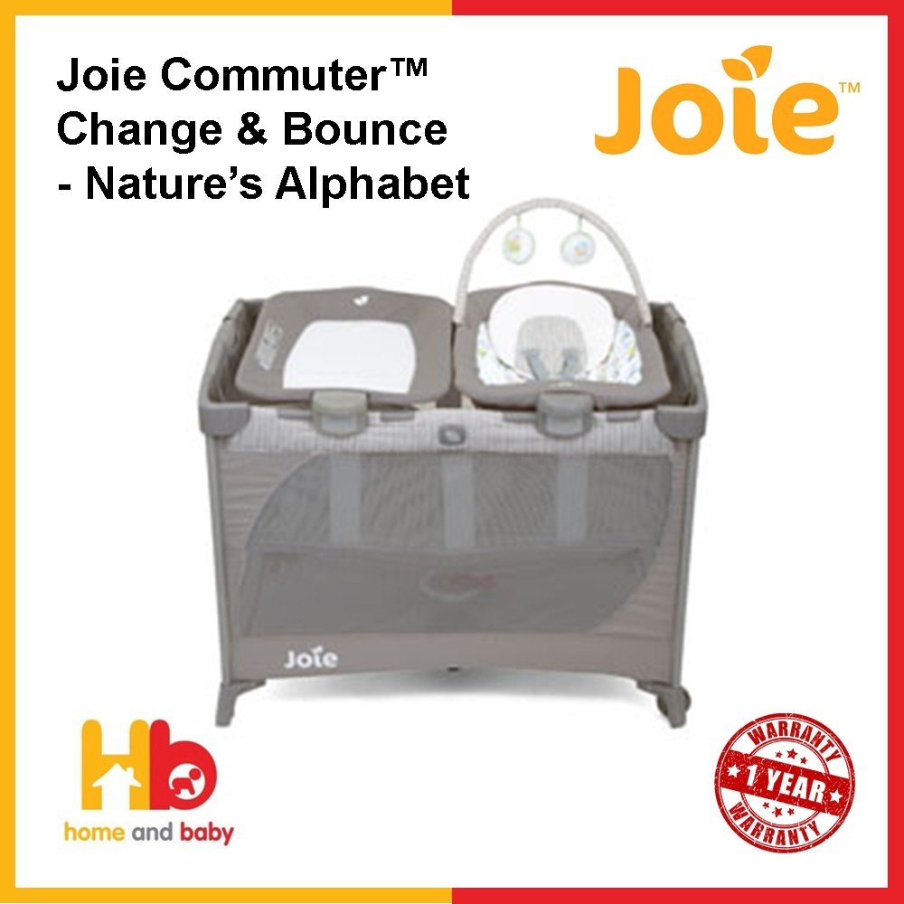 Joie Baby Swing Rocker Joie Commuter Change Bounce Nature S Alphabet Cot