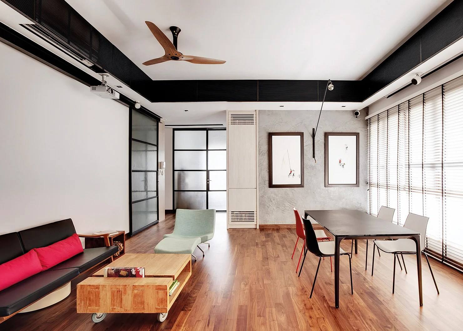 Black Ceiling Fan Stylish Ceiling Fans For Modern Spaces | Home & Decor