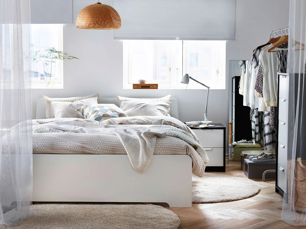 Ikea Askvoll 7 Timeless And Stylish White-themed Bedrooms | Home