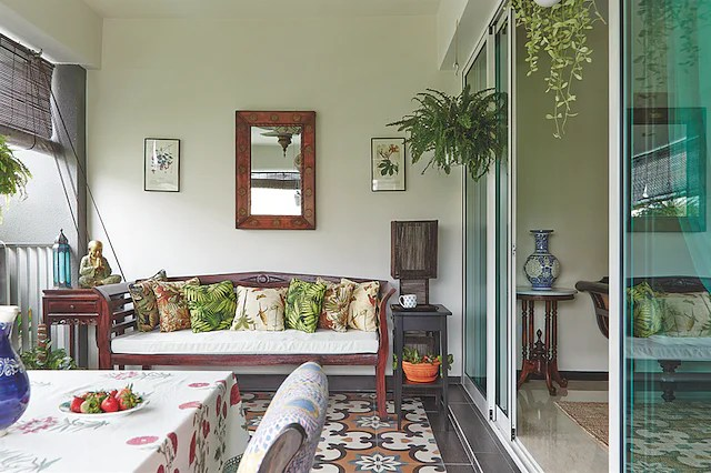 Sofa Design Bedroom Inimitably Indian: Two Homes Furnished In Vintage Indian