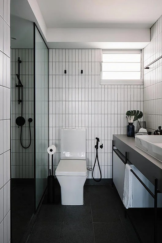 Large Mirrors In Bathroom 9 Ideas For A Stylish Yet Fuss Free Hdb Bathroom Home