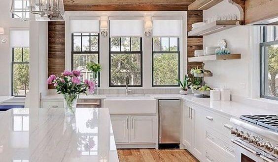 farmhouse kitchen flooring stylish table eat small kitchen ideas decoholic