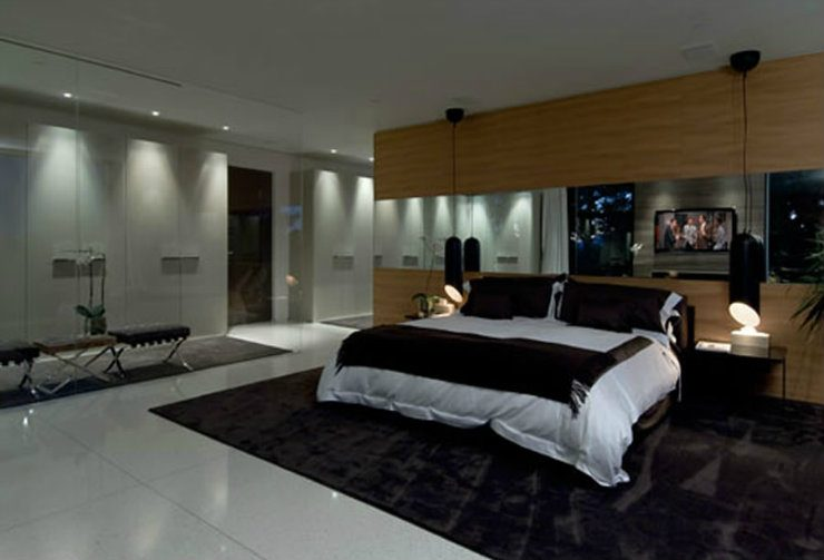 A room with a view  Bedrooms decoration in California