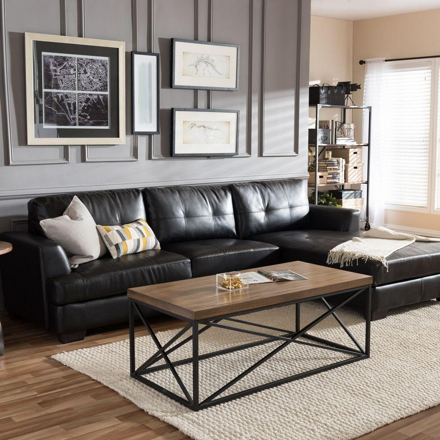5 Black Leather Sofas Perfect For Your Living Room Decor Home And Decoration