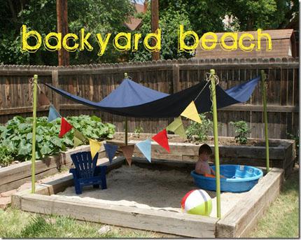 Backyard Beach – Home and Garden