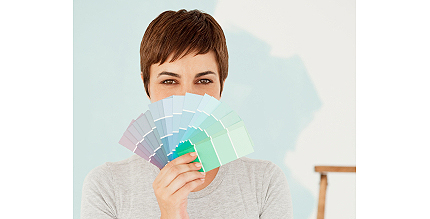 paint chips for crafts - stealing or no