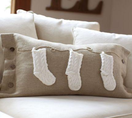 Pottery Barn Stocking Pillow