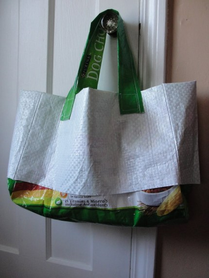 Upcycled Garden Tote