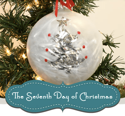Frosted Tree Ornament