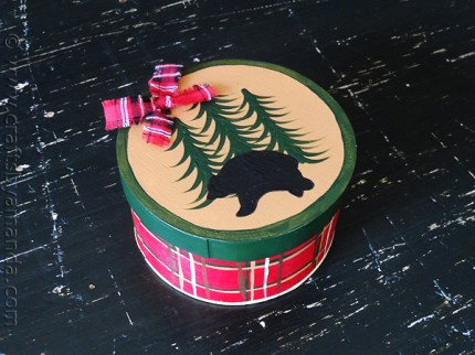 North Woods Themed Gift Box
