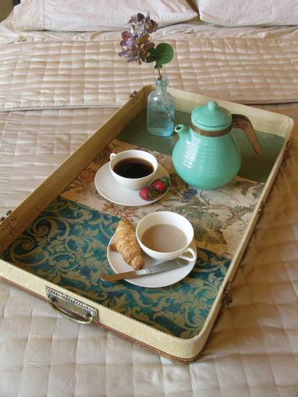 Pretty Breakfast Tray