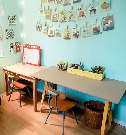 Budget & Kid-Friendly Craft Studio