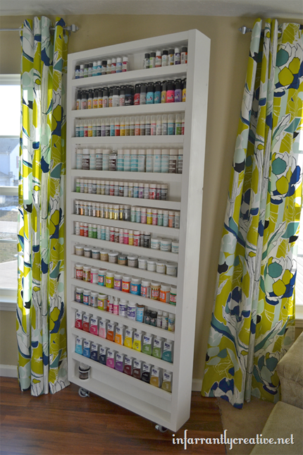 How to Organize Your Sewing Craft Room 430 x 645
