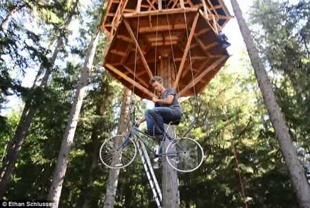 bicycle-powered-treehouse