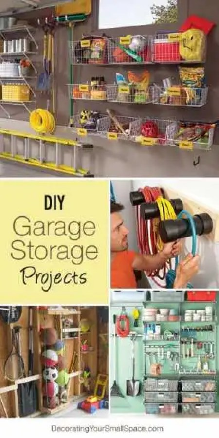 Diy Garage Storage Ideas Home And Garden