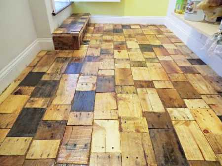 pallet-floor