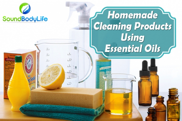 Making Your Own Cleaning Products Using Essential Oils