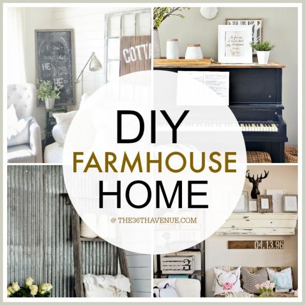 100 Diy Farmhouse Home Decor Ideas: DIY Projects For Farmhouse Decor