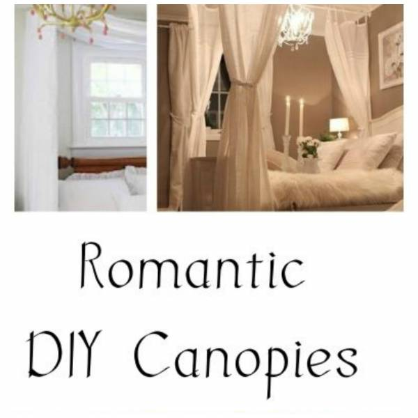 Romantic diy canopy ideas for your master bedroom home - Diy romantic bedroom ideas ...