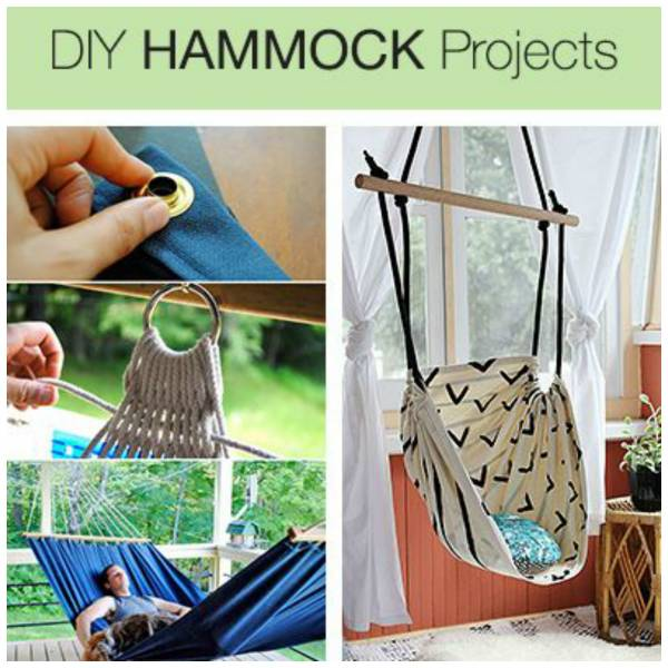 Hammock projects to make yourself home and garden - How to make hammock at home ...