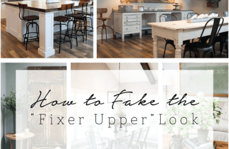 "Get That ""Fixer Upper"" Look In Your Own Home"