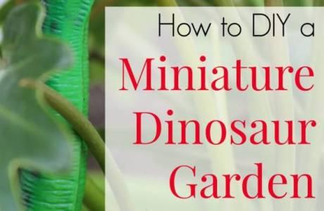 Miniature Dino Garden DIY