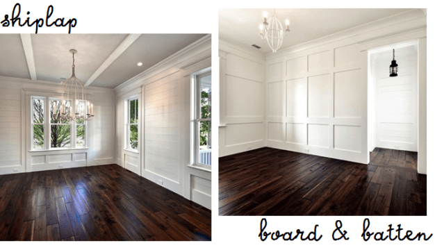 Modern Formal Dining Room Shiplap Vs. Board And Batten – Home & Hera