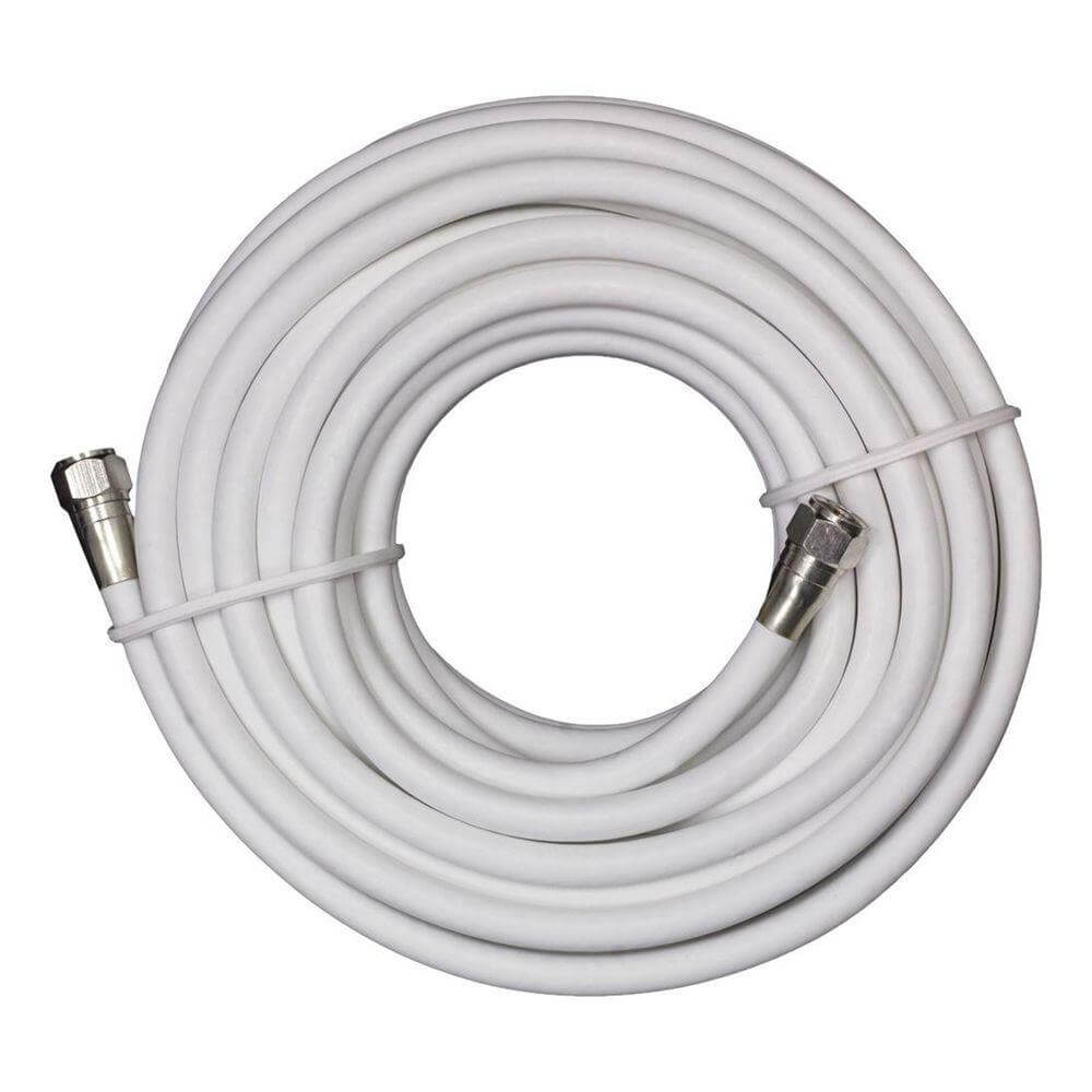 Coaxial Cable Coaxial Cable 50 Feet White Rg6 Cable For Hdtv Antenna Home Antenna