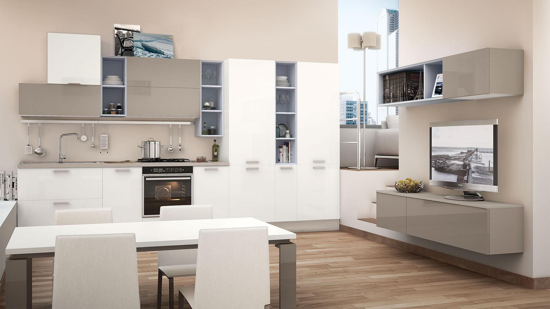 Cucine Lube Design Large Presence Abroad For Cucine Lube Home Appliances World