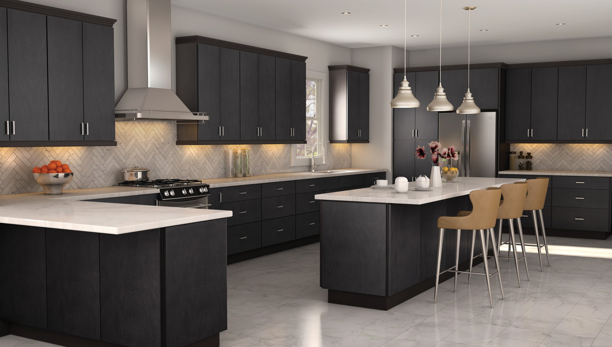 Dark Gray Cabinets Gray Kitchen Cabinets Best Selection In Ny Ultimate Guide