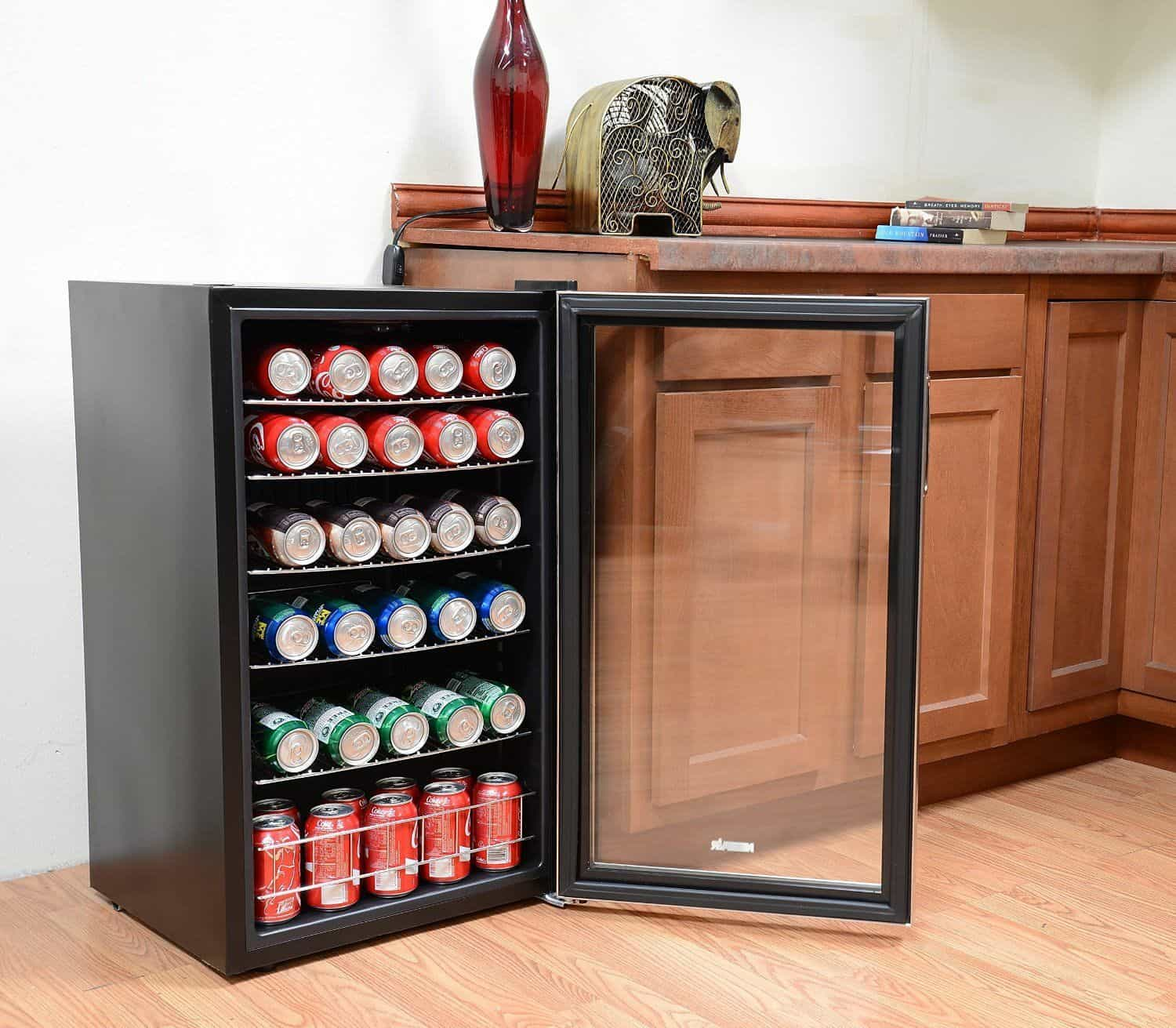 Kuche Bar Fridge Review The Best Beverage Cooler And Refrigerator Reviews Home