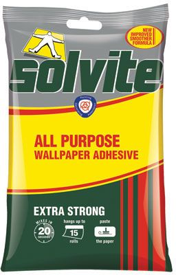 Solvite Paste the Wall Wallpaper Adhesive - 15 Roll